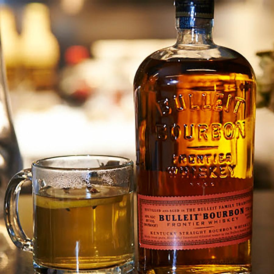 Chai Tea with Bourbon