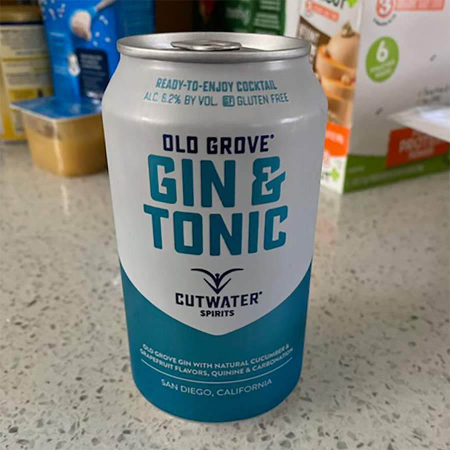 Gin & Tonic From A Can