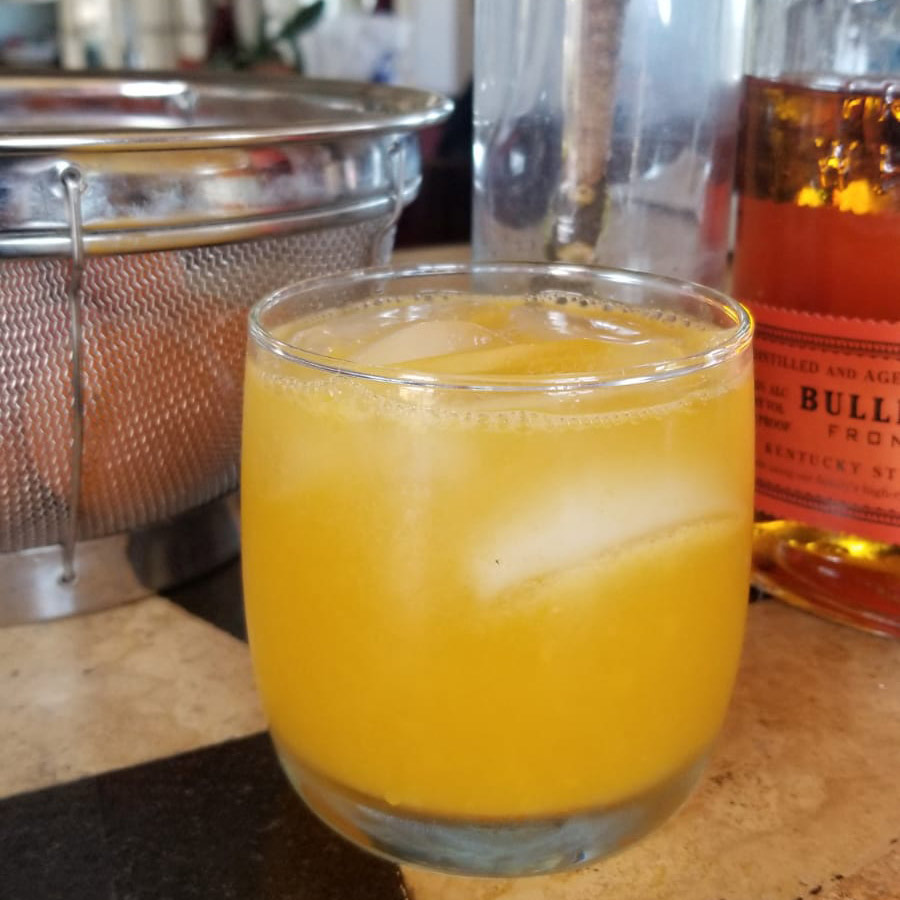 Sparkly Pineapple Whiskey Sour
