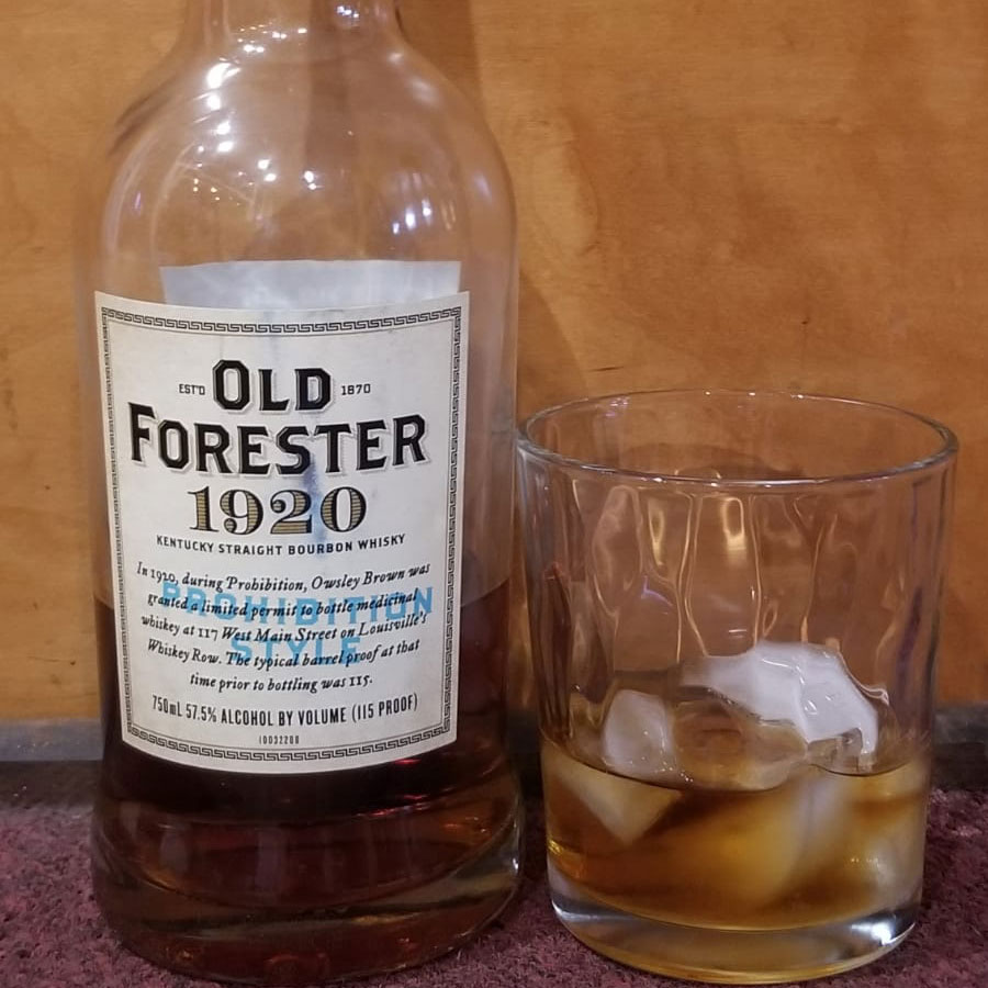 Old Forester Reserve on the Rocks