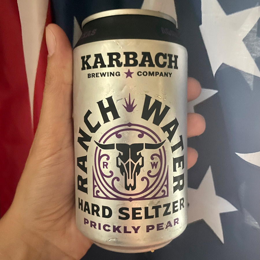 Karbach Ranch Water Hard Seltzer