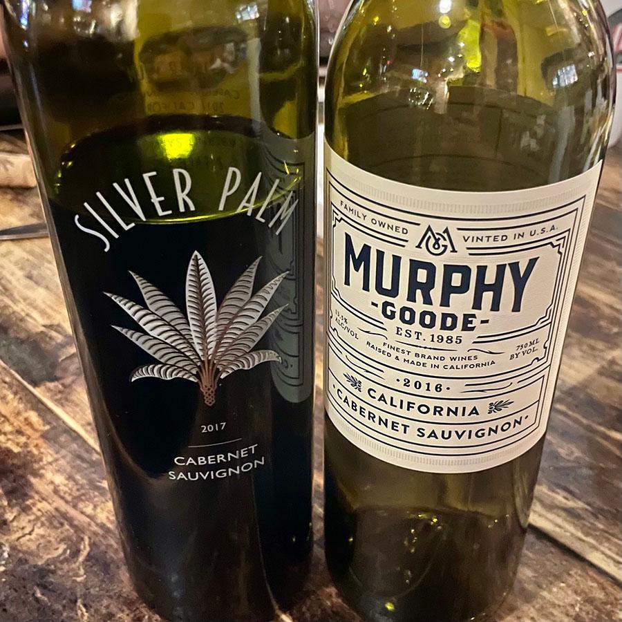 2017 Silver Palm Cabernet Sauvignon & 2018 Murphy Goode Cabernet Sauvignon