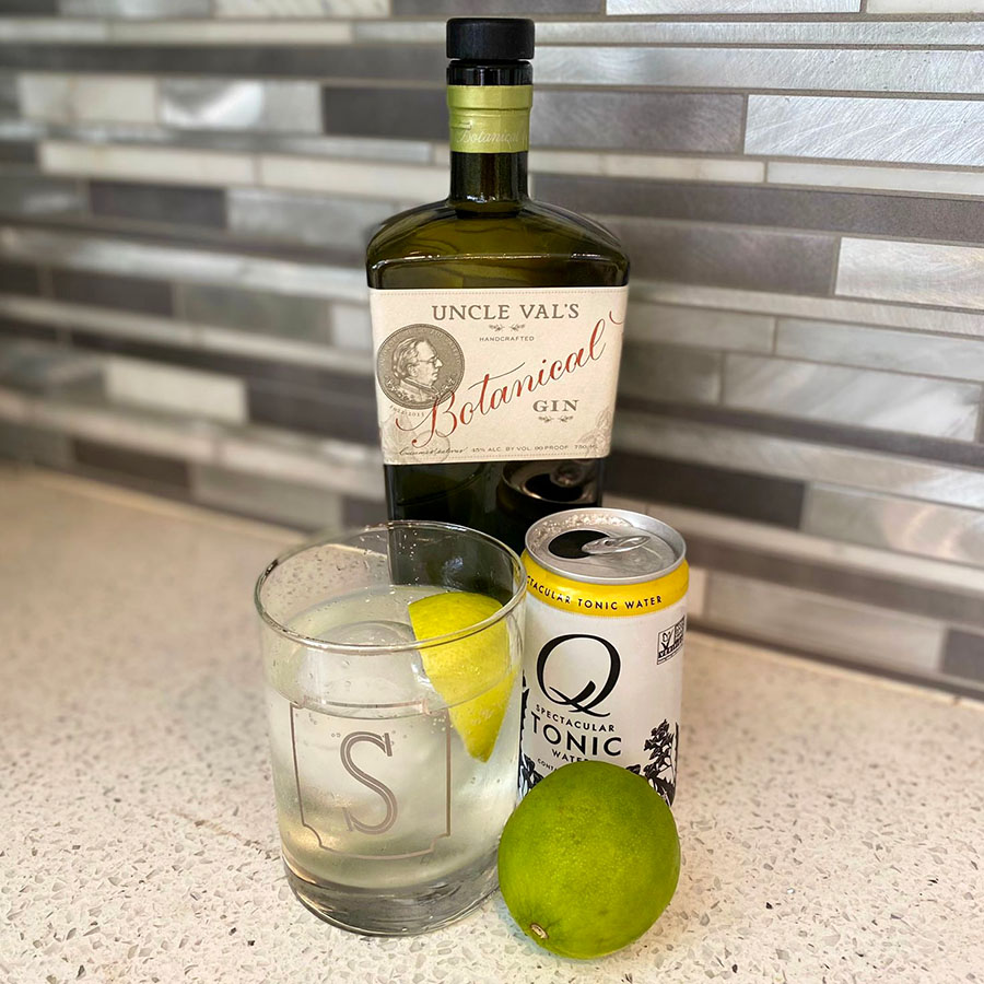 Uncle Val's Botanical Gin and Tonic